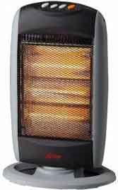 Ardes stufa elettrica alogena a basso consumo potenza max 1200 watt oscillante 454 34824 - Stufa alogena basso consumo ...