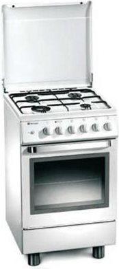 Tecnogas Cucina A Gas 4 Fuochi Forno Elettrico Ventilato