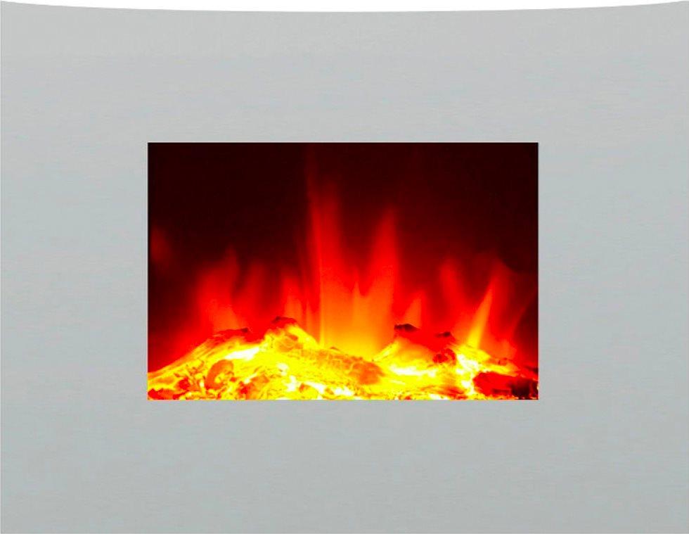 Ardes camino caminetto elettrico moderno da parete effetto for Caminetto elettrico da parete