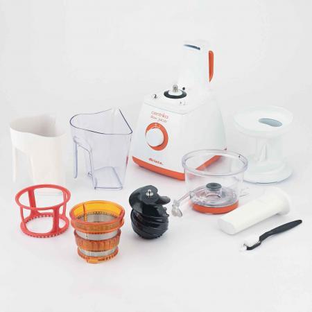 Ariete Centrika Slow Juicer Orange 176 : Estrattore di Succo a Freddo Ariete 176 - Estrattori di succo Prezzi Prezzoforte - 66568