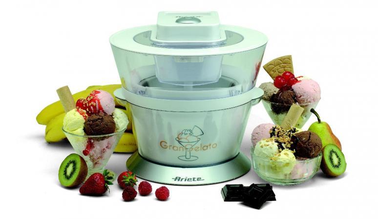 Ariete macchina per gelato gelatiera capacit 1 litro - Macchina per il gelato in casa ...