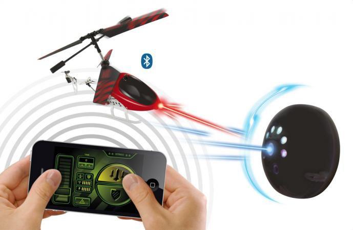 Iphone 6 Elicottero : Beewi elicottero bluetooth radiocomandato iphone ipad