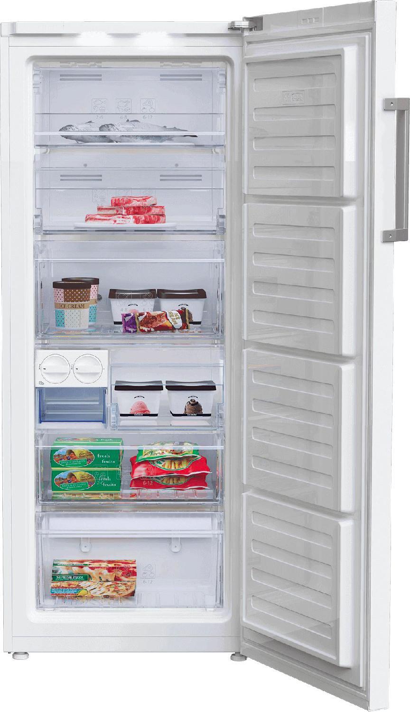 congelatore verticale a cassetti no frost beko rfne270e23w