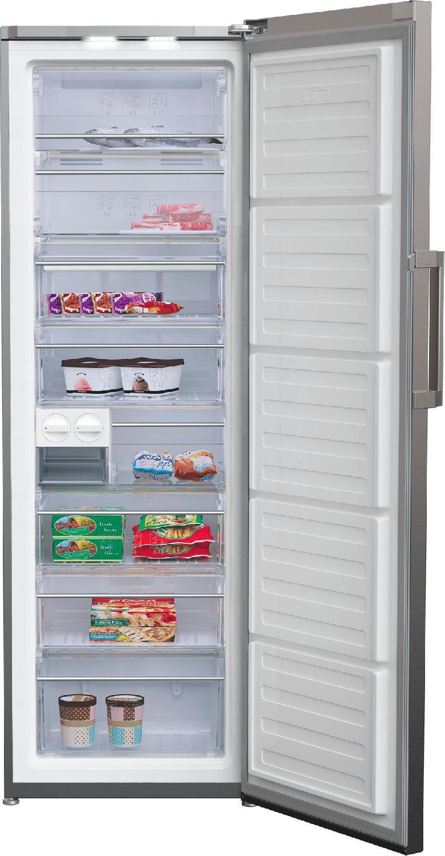 Beko congelatore verticale a cassetti a lt312 20kg 24h for Congelatore verticale a