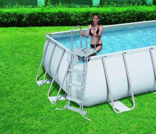 Piscina fuori terra bestway telaio portante rettangolare 549x274x122 h 56256 piscine fuori - Bestway piscine fuori terra ...