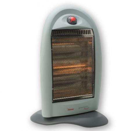 Bimar stufa elettrica alogena a basso consumo potenza max 1200 watt con termostato s221 eu - Stufa alogena basso consumo ...