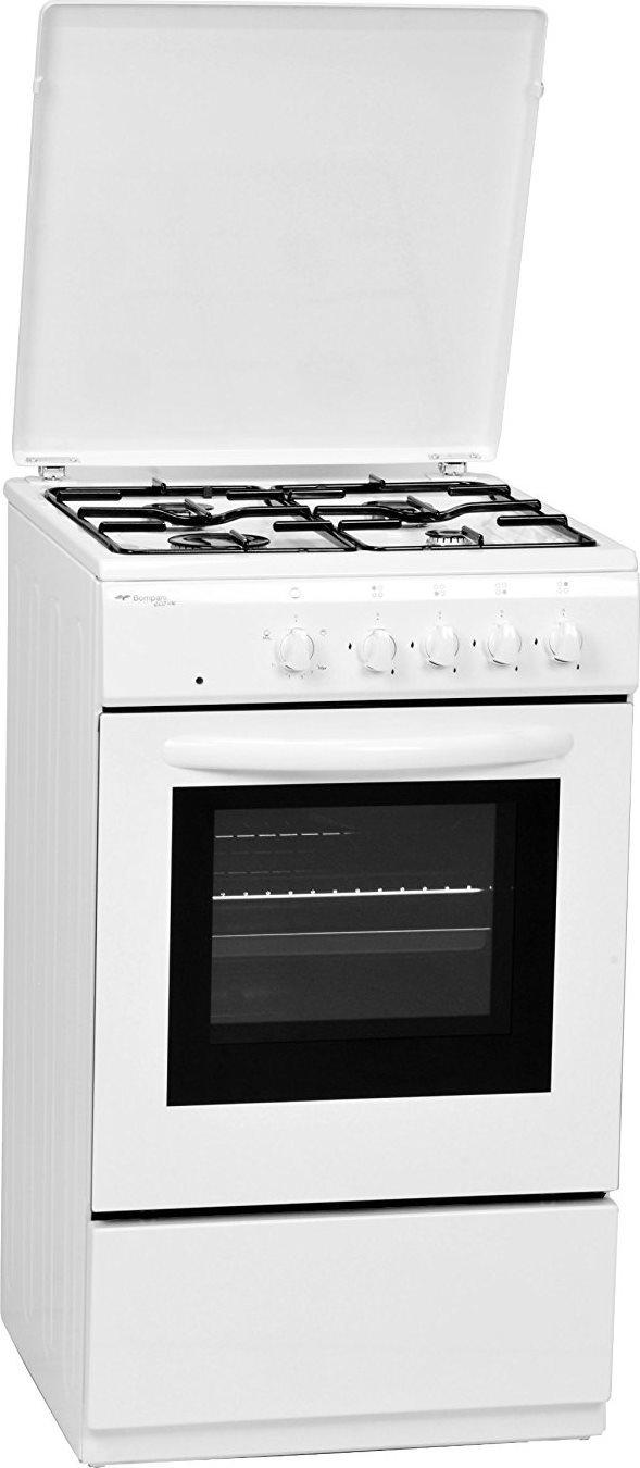 Bompani Cucina A Gas 4 Fuochi Forno Elettrico Con Grill