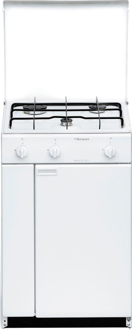 Cucina a gas bompani bi900ya l senza forno 48x45 - Cucine con piastre elettriche ...