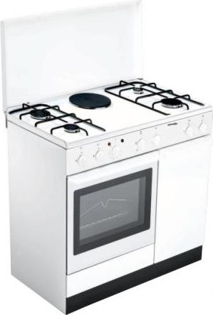 Cucina a gas bompani bi940ea l forno elettrico 90x60 prezzoforte 27767 - Bompani cucine a gas ...