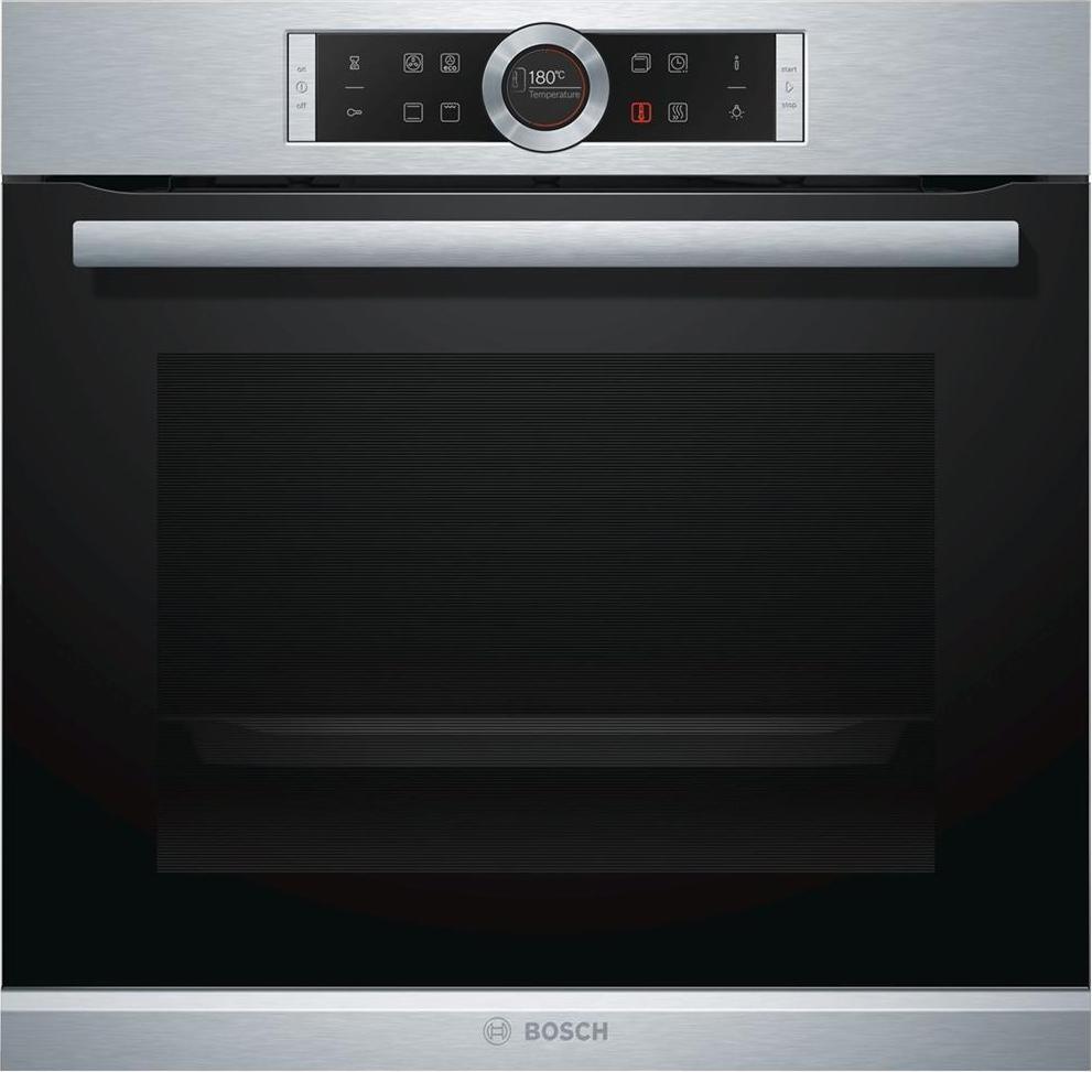 Forno bosch hbg633bs1j serie 8 forno da incasso elettrico ventilato con grill multifunzione - Forno da incasso elettrico ...