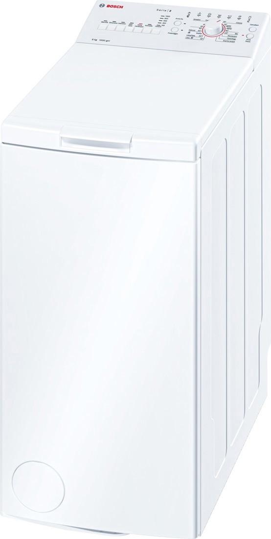 lavatrice bosch 6 kg 1000 giri carica dall 39 alto wor20156it
