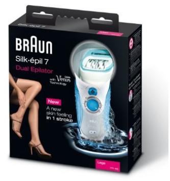 Epilatore Braun Silk-Epil 7 epilatore doppio 7771