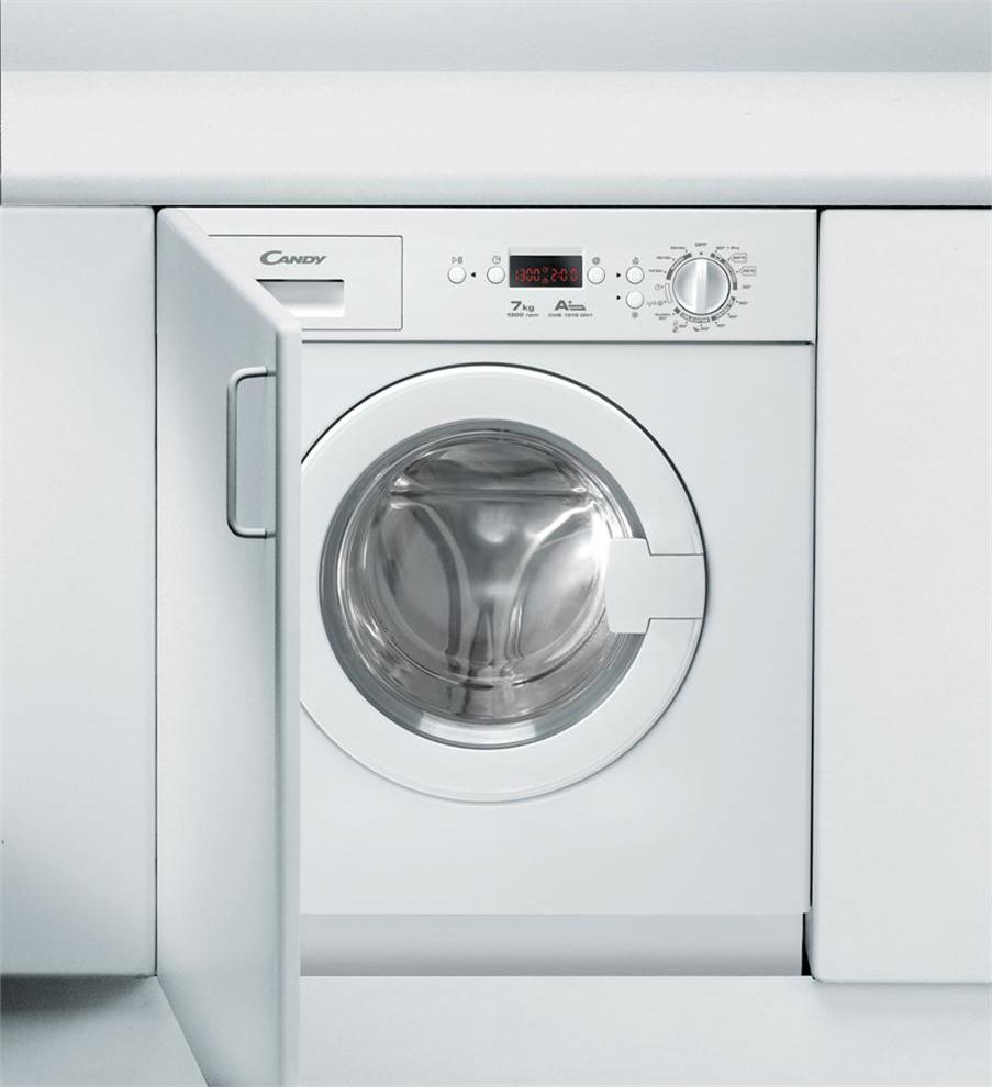 Candy lavatrice da incasso capacit di carico 7 kg classe for Lavatrice candy 7 kg
