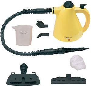 Clatronic mini pulitore a vapore portatile a pistola for Vaporetto pistola