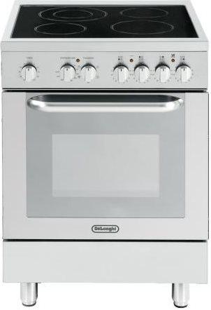 De longhi cucina elettrica 4 fuochi vetroceramica forno elettrico multifunzione con grill - Cucina elettrica de longhi ...