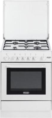 De longhi cucina a gas 4 fuochi forno a gas con grill for Stufe a gas metano de longhi