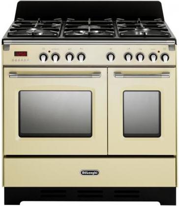 Cucina a gas de longhi mem 965t ba forno elettrico for Cucina 5 fuochi 70x60