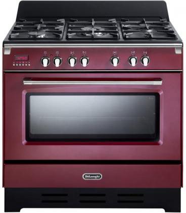 De longhi cucina a gas 5 fuochi forno elettrico ventilato grill mem 965 ra ebay - Consumo gas cucina ...
