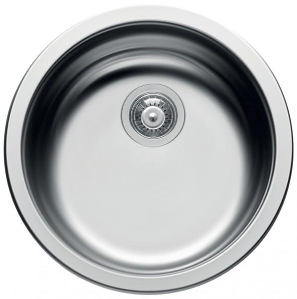 Lavello cucina elleci 1010060 vs445 1 tondo vasca inox prezzoforte 70741 - Lavello cucina profondita 40 ...