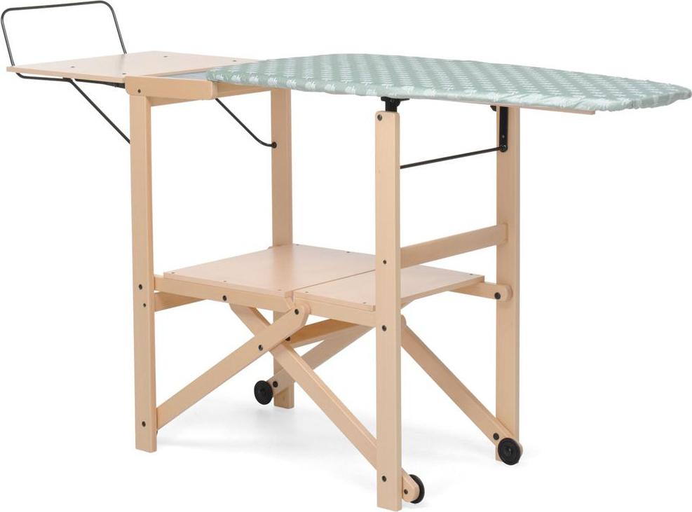 Foppapedretti asse da stiro in legno 500 x 1780 mm colore for Asse da stiro in legno