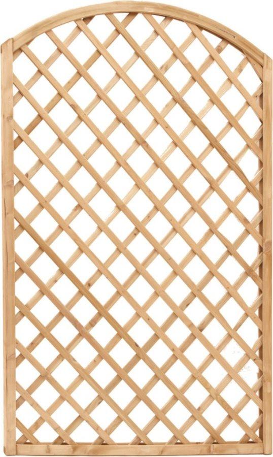 Grigliato legno pannello grigliato 120x180 arredo giardino for Fioriera con grigliato brico