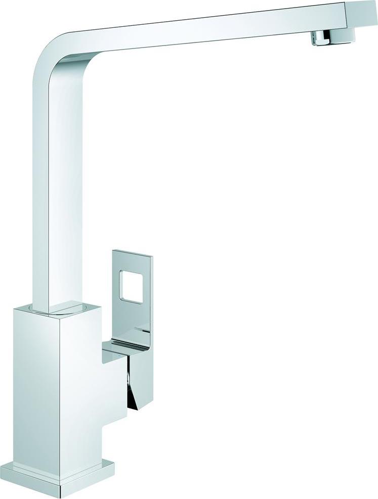 grohe miscelatore cucina rubinetto monocomando colore cromo 31255000 eurocube 45004. Black Bedroom Furniture Sets. Home Design Ideas