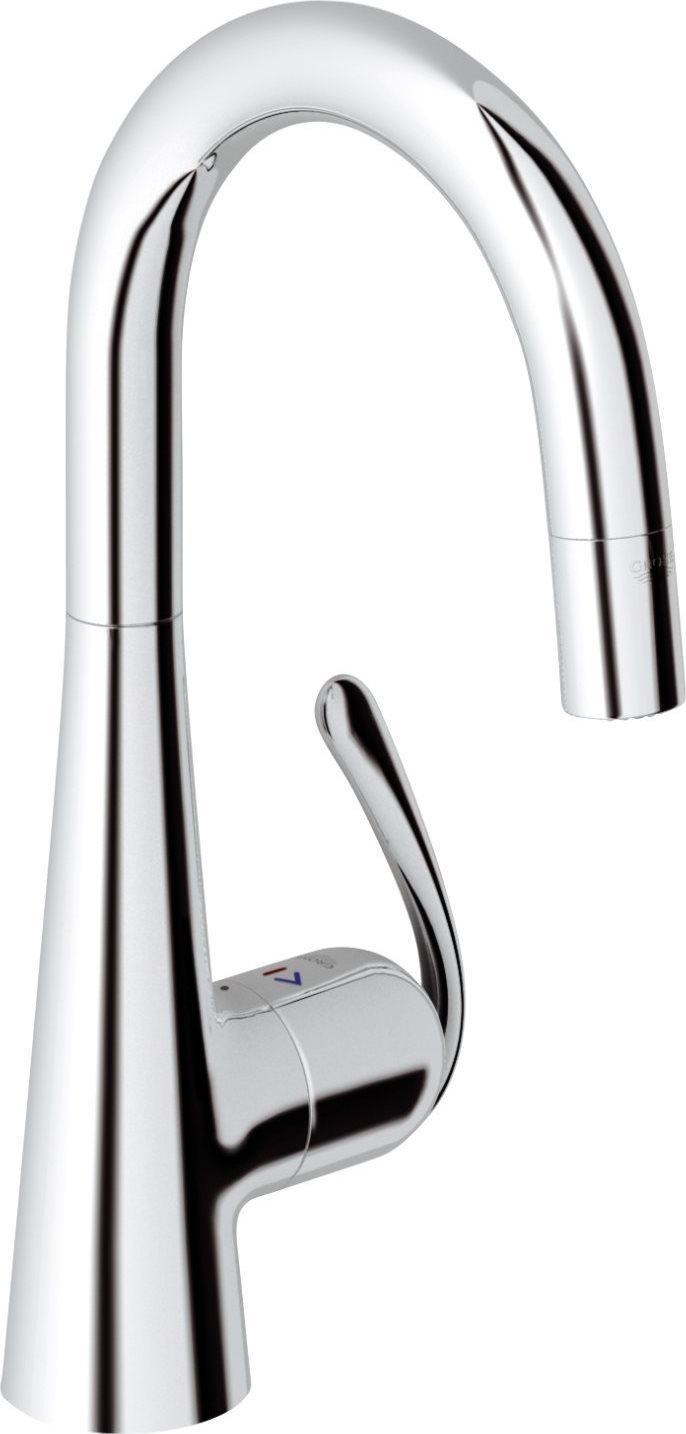 Grohe miscelatore cucina rubinetto monocomando colore cromo zedra 32296000 89954 - Grohe miscelatore cucina ...