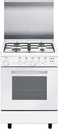 Glem gas cucina a gas 4 fuochi forno a gas multifunzione ventilato con grill larghezza x - Cucina con forno ventilato ...