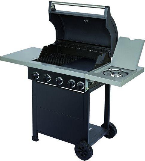 Globex barbecue a gas piastra in ghisa da esterno bbq da - Barbecue da esterno a gas ...