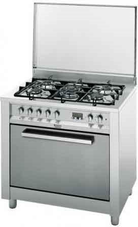 Hotpoint ariston cucina a gas 5 fuochi forno elettrico con - Cucina a gas ariston ...