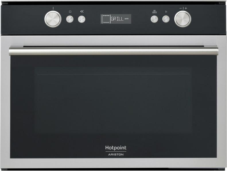 Hotpoint ariston forno a microonde da incasso combinato con grill capacit 40 litri potenza 900 - Forno incasso combinato ...