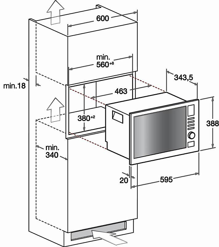Hotpoint ariston forno a microonde da incasso capacit 20 - Forno microonde incasso ariston ...