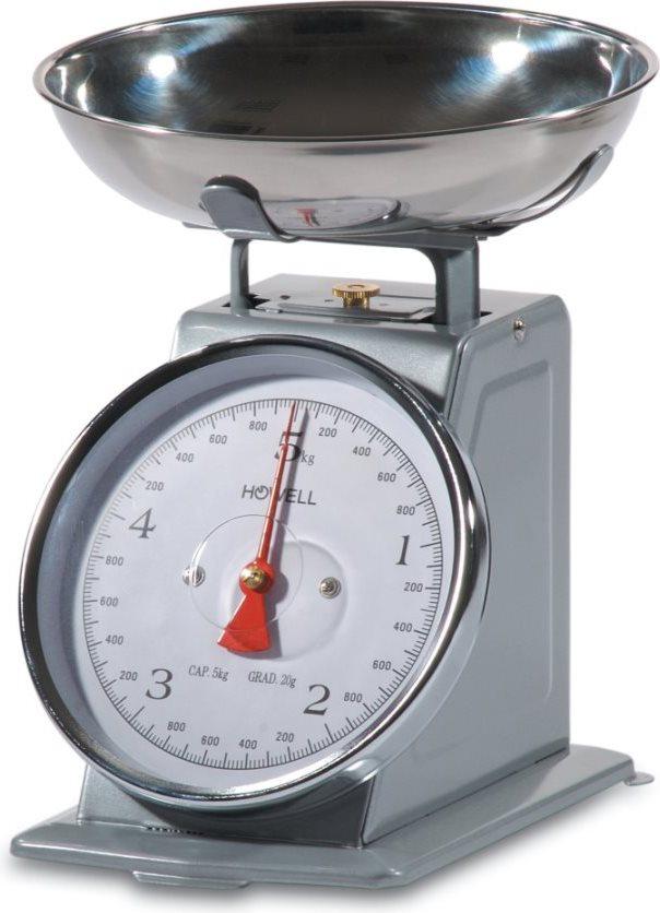 Howell bilancia da cucina meccanica massimo peso rilevabile 5 kg precisione 20g hbc655s 7076 - Ikea bilancia cucina ...