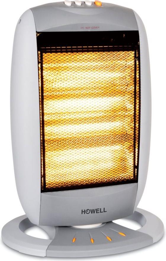 Howell stufa elettrica alogena a basso consumo potenza max 1800 watt oscillante sa1806 7111 - Stufa elettrica a basso consumo ...