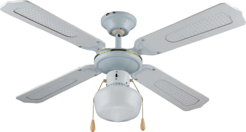 Howell ventilatore da soffitto con luce 4 pale lampadario for Lampadario a pale brico