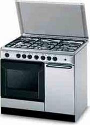 Cucina a gas indesit k9f71sb x i forno elettrico - Bombola gas cucina prezzo ...