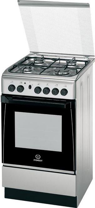 Indesit Cucina A Gas 4 Fuochi Forno A Gas Con Grill