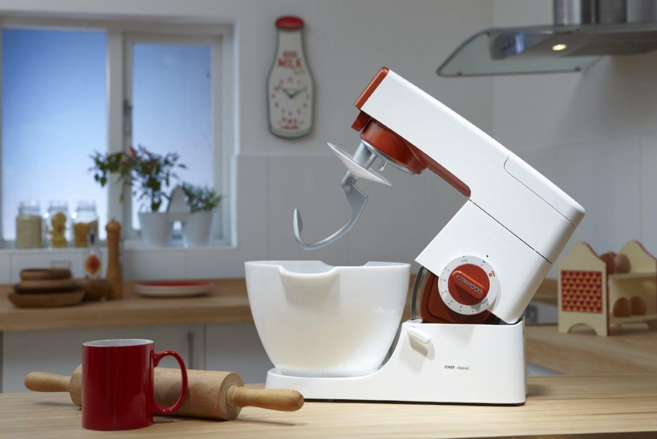 Kenwood robot da cucina impastatrice planetaria robot - Robot da cucina easy chef ...