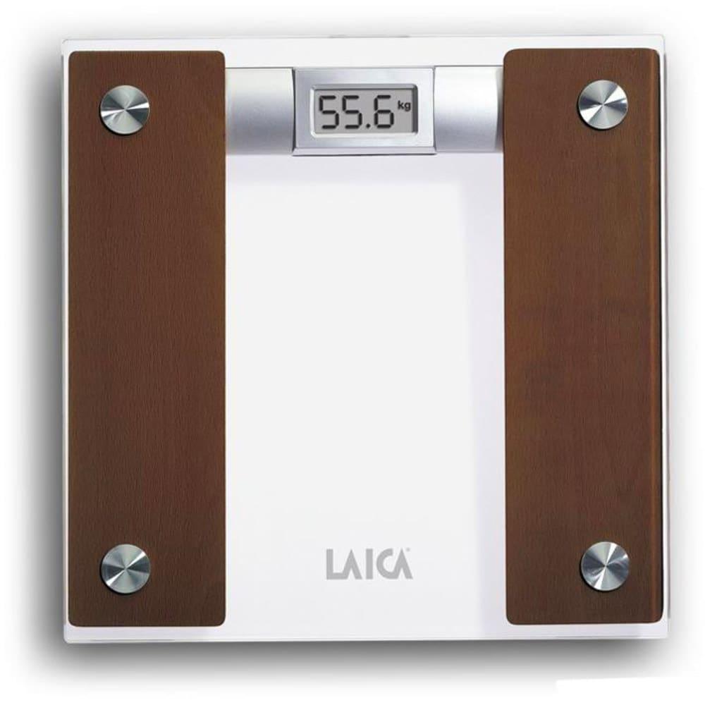 Laica bilancia pesapersone digitale in vetro e legno - Portata bilancia pesapersone ...