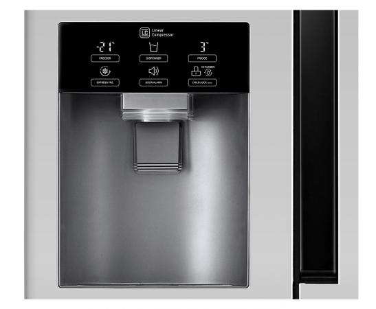 Lg frigorifero americano side by side classe a total no - Frigorifero total no frost ...