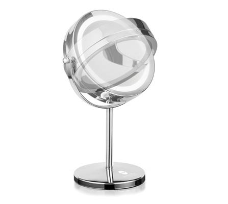 Macom doppio specchio ingrandente normale da tavolo for Specchio da tavolo con luce ikea