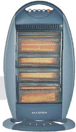 Master stufa elettrica alogena a basso consumo potenza max 1600 watt oscillante con termostato - Stufa elettrica a basso consumo ...