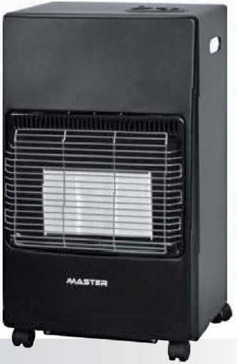 master stufa a gas infrarossi portatile potenza max 4 1 kw