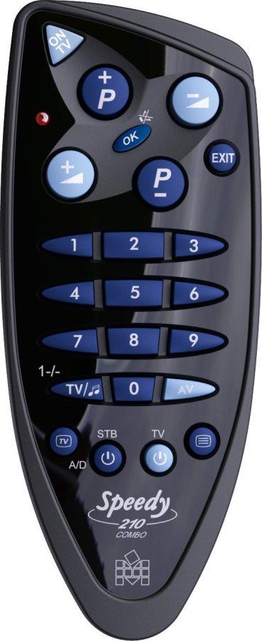 Meliconi Telecomando Universale Per Decoder O Tv Per Decoder E Tv Speedy 210 Combo 40843
