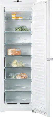 congelatore a pozzetto orizzontale no frost miele fn12821s. Black Bedroom Furniture Sets. Home Design Ideas