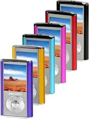 Lettore mp4 new majestic audio portatile sda 4357rd - Lettore file mp4 ...
