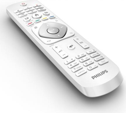 Philips tv led 24 pollici hd ready 100 hz digitale for Philips telecomando