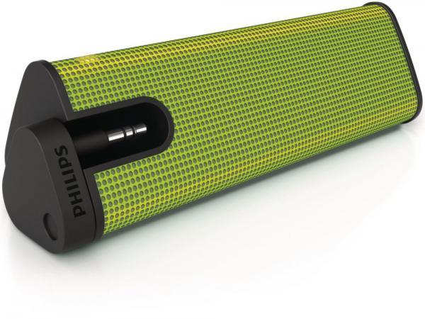 Philips cassa speaker 2 watt per ipod iphone colore verde for Cassa bluetooth philips