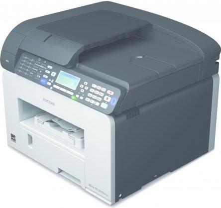 Ricoh stampante multifunzione ink jet a colori a4 stampa for Ricambi stufe scan