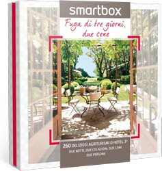 smartbox cofanetto regalo 260 agriturismi o hotel 3 stelle